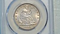 1889 50C PCGS MS64 SEATED LIBERTY HALF DOLLAR  ONLY A MERE 12 000 MINTED