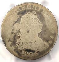 1806 DRAPED BUST QUARTER 25C B 9   PCGS AG3     EARLY CERTIFIED COIN
