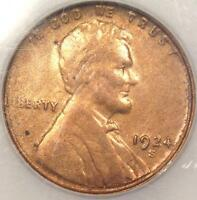1924 S LINCOLN WHEAT CENT 1C   UNCIRCULATED DETAILS DIPPED    MS UNC COIN