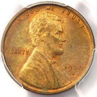 1909 S VDB LINCOLN WHEAT CENT 1C   PCGS MS63 RB    KEY DATE PENNY