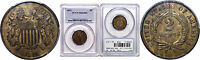1871 TWO CENT PIECE PCGS MINT STATE 63 BN