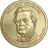 2010 D PRESIDENTIAL DOLLAR MILLARD FILLMORE SATIN FINISH