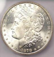 1878-CC MORGAN SILVER DOLLAR $1 - ICG MINT STATE 65 -  IN MINT STATE 65 GRADE - $2,030 VALUE