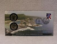 2009 NORTHERN MARIANA FIRST DAY COVER  P & D MINT STATE QUARTER WB6   OPENED