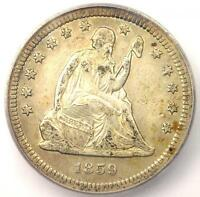 1859-S SEATED LIBERTY QUARTER 25C - CERTIFIED ICG EXTRA FINE 40 EF40 - $4,940 VALUE