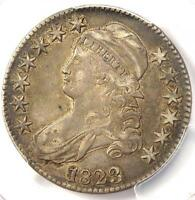 1823 CAPPED BUST HALF DOLLAR 50C - PCGS EXTRA FINE 45 EF45 -  CERTIFIED COIN