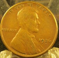 1926-S LINCOLN WHEAT CENT-PENNY  COIN                            8231710