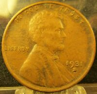 1931-S LINCOLN WHEAT CENT-PENNY FANTASTIC KEY DATE SOLID COIN           823177