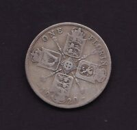 1920 GREAT BRITAIN UK GEORGE V FLORIN SILVER COIN