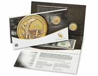 2015 $1 COIN & CURRENCY SET W/ ENHANCED SACAGAWEA MOHAWK $1 COIN  10126