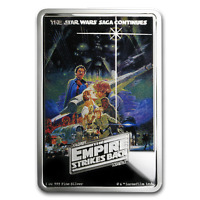 2017 NIUE 1 OZ SILVER $2 STAR WARS THE EMPIRE STRIKES BACK POSTER   SKU153744