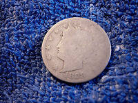 LIBERTY NICKEL:  1898 ABOUT   GOOD