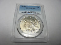 1928 S PEACE SILVER DOLLAR PCGS MS63 CLEAN BACKGROUNDS BRIGHT
