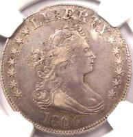 1806 DRAPED BUST QUARTER 25C   NGC XF DETAILS EF   $3,750 VALUE IN XF40
