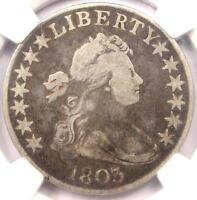 1803 DRAPED BUST HALF DOLLAR 50C   NGC VG DETAILS    CERTIFIED COIN