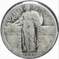 1925 STANDING LIBERTY QUARTER - GOOD OR BETTER CONDITION [113]