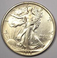 1918 WALKING LIBERTY HALF DOLLAR 50C COIN - EXCELLENT CONDITION -  LUSTER