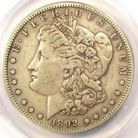 1892-S MORGAN SILVER DOLLAR $1 - CERTIFIED ANACS VF35 -  DATE - $264 VALUE