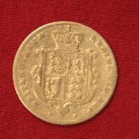 BRITISH GOLD SOVEREIGN 1856 VG TO F YOUNG VICTORIA HEAD