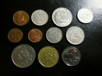 SINGAPORE 1968   2005 X 10 DIFFERENT COINS