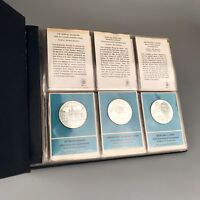 THE FRANKLIN MINT   SPECIAL COMMEMORATIVE ISSUES OF 1970    30  STERLING COINS