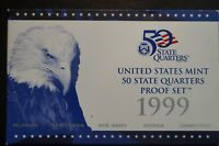 1999 S PROOF SET QUARTERS ONLY  PROOF