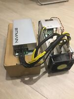 BITMAIN ANTMINER S9 BITCOIN MINER 14 TH/S 1600W PSU APW3   [IN STOCK ] IN ITALY