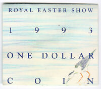 1993 RAM $1 UNC  ROYAL EASTER SHOW 'S' MINTMARK