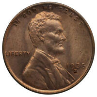 1935 S LINCOLN WHEAT CENT BU PENNY US COIN