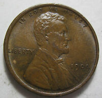 1909 LINCOLN WHEAT CENT COIN GRADES MS BROWN 1015M