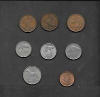 IRELAND LOT OF 4 CIRCULATED COINS