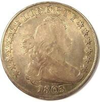1803 DRAPED BUST SILVER DOLLAR $1 -  GOOD DETAILS VG -  TYPE COIN