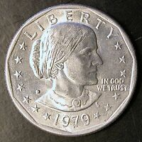 1979 D SUSAN B ANTHONY DOLLAR   MULTIPLE ERRORS      $REDUCED PRICE