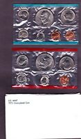 1973 UNITED STATES US MINT UNCIRCULATED 13PC COIN SET   IKE DOLLARS
