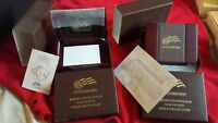 2009 AMERICA BUFFALO ONE OUNCE GOLD PROOF COIN BOX. BOX ONLY  NO COIN ..