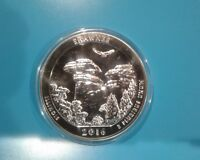 2016 5 OZ AMERICA THE BEAUTIFUL SHAWNEE NATIONAL FOREST SILVER ROUND