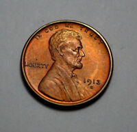 1913-S RD UNC/MS LINCOLN RED, SHARP WHEAT ONE CENT PENNY BETTER DATE,TOUGH,