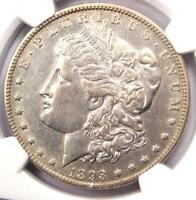 1893-O MORGAN SILVER DOLLAR $1 COIN - CERTIFIED NGC AU DETAILS -  DATE
