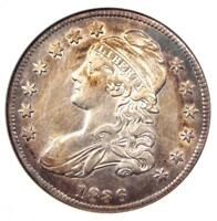 1836 CAPPED BUST HALF DOLLAR 50C O-115 - ANACS AU DETAILS -  CERTIFIED COIN
