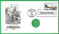 PNC111 1898 KLONDIKE GOLD RUSH STAMP FIRST DAY COVER PNC GOLD FLAKE NOME AK