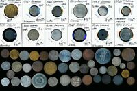 53 OLD GERMAN COINS  PLENTY OF COLLECTIBLES  SEE IMAGES >