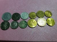 LOT3 OF 12 MIXED EUROPEAN COINS   DOZEN COLLECTION FROM EUROPE