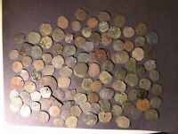 MEDIEVAL CROSS COINS LOT 106 TOTAL SILVER 1200 1300'S ANCIEN