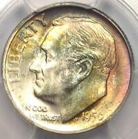 1950 S ROOSEVELT DIME 10C COIN   PCGS MS67  FB   PQ PLUS GRADE   NEAR MS68