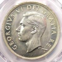 1948 CANADA GEORGE DOLLAR $1   PCGS UNCIRCULATED DETAILS  MS UNC    KEY COIN
