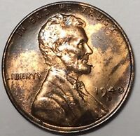 1940 D DDO-002 LINCOLN WHEAT CENT- BRILLIANT UNCIRCULATED  1