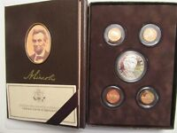 2009 LINCOLN COIN & CHRONICLES SET PROOF SILVER DOLLAR ALL ORIGINAL PACKAGING