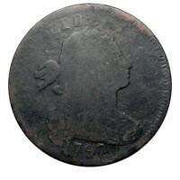 LARGE CENT/PENNY 1797 M OVER E VARIETY BARGAIN BIN