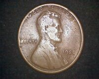 1920-S LINCOLN WHEAT CENT 13328