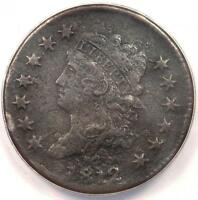 1812 CLASSIC LIBERTY LARGE CENT 1C COIN - ANACS VF30 DETAILS -  DATE PENNY